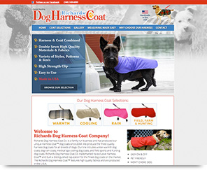 Richards Dog Harness Coat